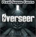 Illustration of font Overseer
