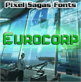 Illustration of font Eurocorp