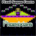 Illustration of font Phoenixians