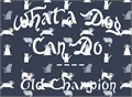 Illustration of font Old Champion