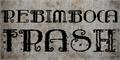 Illustration of font Rebimboca Trash