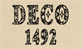 Illustration of font CF Deco 1492