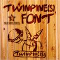 Illustration of font TWINPINES