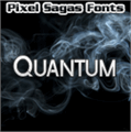 Illustration of font Quantum
