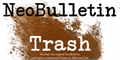 Illustration of font NeoBulletin Trash