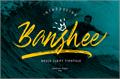 Illustration of font Banshee