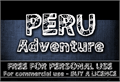 Illustration of font CF Peru Adventure