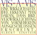 Illustration of font Via-A-Vis