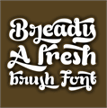 Illustration of font Bready Regular Demo