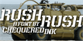 Illustration of font Rush Rush