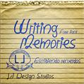 Illustration of font Writing Memories