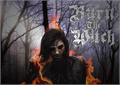Illustration of font Burn The Witch