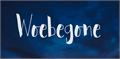 Illustration of font Woebegone DEMO