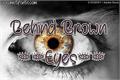 Illustration of font Behind Brown Eyes
