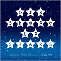Illustration of font DJB Shape Up Stars
