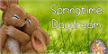 Illustration of font Springtime Daydream