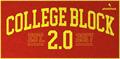 Illustration of font College Block