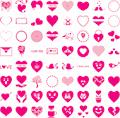 Illustration of font Font I Love You