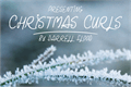 Illustration of font Christmas Curls