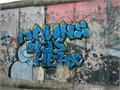 Illustration of font MAWNS' Graffiti Filled