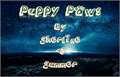 Illustration of font Puppy_paws