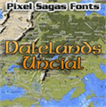 Illustration of font Dalelands