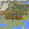 Illustration of font Dalelands