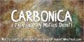 Illustration of font Carbonica
