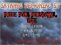 Illustration of font Satanyc Demoniac St