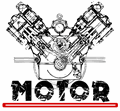 Illustration of font MOTOR