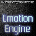 Illustration of font Emotion Engine