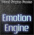 Illustration of font Emotion Engine