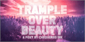 Illustration of font Trample Over Beauty
