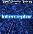 Illustration of font Interceptor