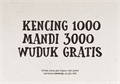 Illustration of font Cemong