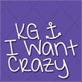 Illustration of font KG I Want Crazy