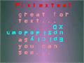 Illustration of font Pixlextear