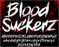 Illustration of font BLOODSEEKER DEMO