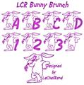 Illustration of font LCR Bunny Brunch