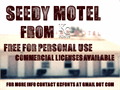 Illustration of font Seedy Motel