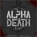 Illustration of font Alpha Death Personal Use