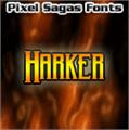 Illustration of font Harker