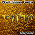 Illustration of font Iokharic