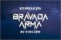 Illustration of font BravAda Arma