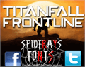 Illustration of font TITANFALL FRONTLINE