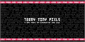 Illustration of font Teeny Tiny Pixls