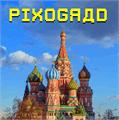 Illustration of font Pixograd