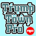 Illustration of font Trump Town Pro