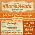 Illustration of font Marmellata (Jam)_demo