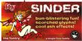 Illustration of font Sinder